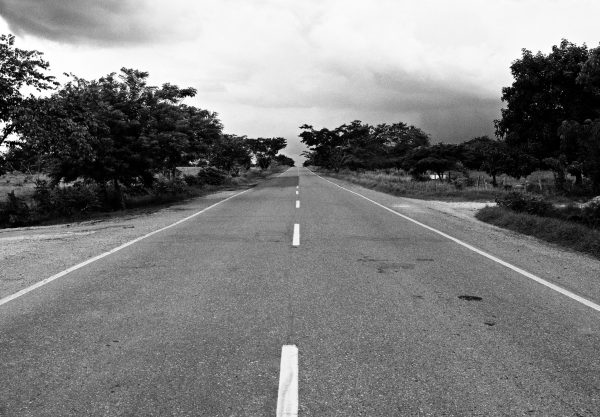 Canva - Grayscale Photography of Concrete Road during Daytime